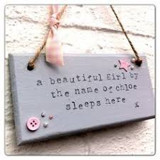 ray of sunshine new baby quote shabby chic plaque wall hanging