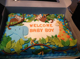 jungle baby shower cake crispy s cakes safari baby shower cake