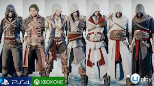 assasins creed halloween costume assassins creed unity customization suits costume skins