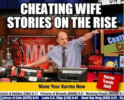 Meme Cheating Wife - cheating wife stories on the rise mad karma meme on memegen
