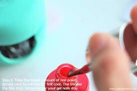 lips n berries le mini macaron gel nail manicure kit review