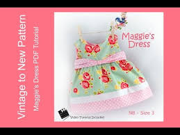 tutorial youtube pdf maggie s dress pattern tutorial size nb to size 3 youtube