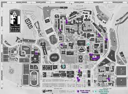 San Diego State University Campus Map by The Pride Center Campus Resources Sdsu