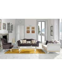 passion buttoned 3 piece sofa set leberta london
