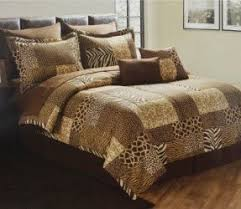 Brown Queen Size Comforter Sets King Size Animal Print Comforter Set Foter