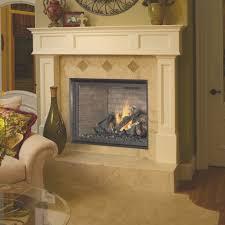 luxury gas fireplace american hearth madison luxury 42 gas