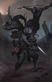 ninjas by afrocream monster beast creature animal create your
