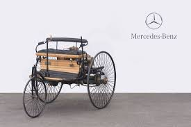 first mercedes benz 1886 1886 benz ideal benz patent motorwagen trycicle replica