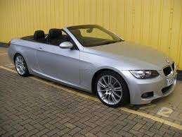 used bmw 3 series uk used 2007 bmw 3 series convertible 320i m sport petrol for sale in