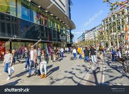 frankfurt germany may 6 2016 people stock photo 416639158