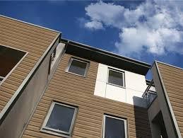 rivestimento facciate in legno di facciata in legno una facciata come nuovo dopo la mano