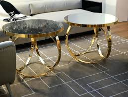gold metal side table side table gold metal side table coffee tables and glass gold set