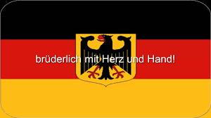 German Flag 1940 Deutsche Nationalhymne Mit Gesang Und Text Youtube