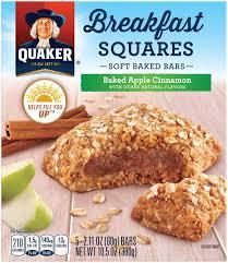 cuisine de a 0 z quaker breakfast squares baked apple cinnamon quakeroats com