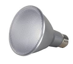 Par30 Led Light Bulb by Satco S9426 Par30 Long Neck Led 3000k 25 U0027 Beam Spread Medium Base