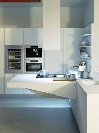 highly versatile board compact kitchen designed by snaidero