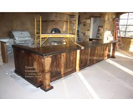 kitchen island made from reclaimed wood mediterranean style wood kitchen island taber companytaber