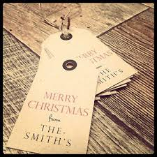 24 vintage shabby chic personalised christmas tags ebay