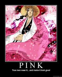 Real Men Wear Pink Meme - real men wear pink by gaaraleesandninja on deviantart