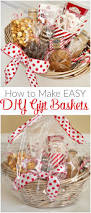 how to make easy diy gift baskets for the holidays a helicopter mom