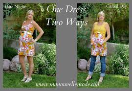 second maternity clothes 3rd trimester style one dress two ways ma nouvelle mode