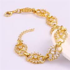 child bracelet gold images Baby girls 18k gold bracelets rose gold jewelry bangle 18k gold jpg