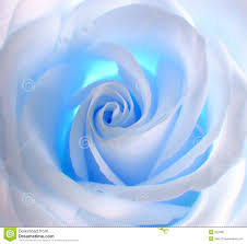 beatiful blur blue faded on white background description from