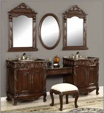 84 Inch Bathroom Vanities by Single Sink Vanity With Makeup Area D Bath Vanity In Best 20