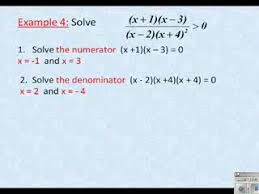 Solving Rational Inequalities preview image MathVids