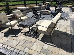 Making A Paver Patio by Paver Patios And Seating Walls