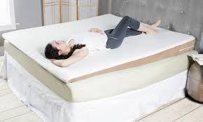avana inclined acid reflux memory foam mattress topper wedges
