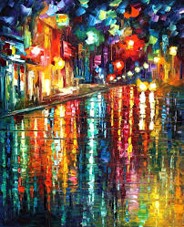 the colors of paris u2014 palette knife oil painting on canvas by