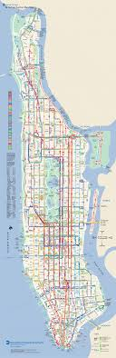 manhattan on map manhattan on map major tourist attractions maps