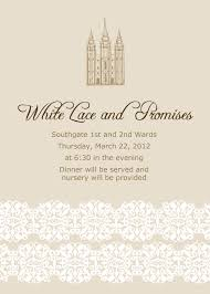 lds wedding invitation wording afoodaffair me
