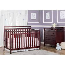 Convertible Cribs Walmart by Dream On Me Liberty 5 In 1 Convertible Crib Cherry Walmart Com