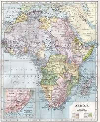 africa map before colonization colonisation of africa