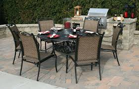 patio round patio table with fire pit round patio tablecloth