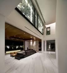 metallic house interior spaces that shine steel u0026 copper in