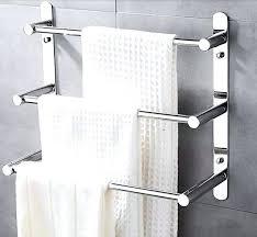 bathroom towel holder ideas swinging towel rack inspiring best bathroom towel racks ideas on at