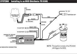 msd 6al wiring with msd distributer wiring diagram simonand
