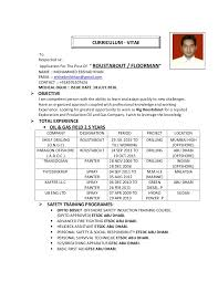 Commi Chef Resume Sample by Ershad Roustabout U0026 Floorman