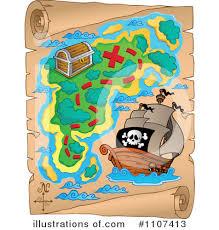 treasure map clipart treasure map clipart 1107413 illustration by visekart