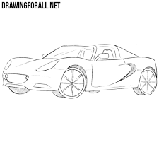pagani drawing how to draw a lotus elise drawingforall net
