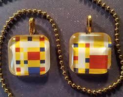 Mondrian Collection Rugs Mondrian Jewelry Etsy