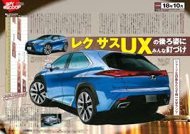 lexus japanese models rumor lexus ux subcompact crossover arriving october 2018