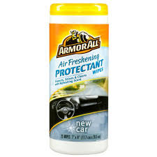 air freshener new car smell armor all air freshening protectant wipes with new car scent