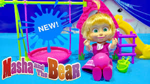 masha bear 2016 toy videos review masha medved 2016