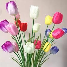 Wholesale Silk Flowers Aliexpress Com Buy Wholesale Silk Flowers Tulip Artificial