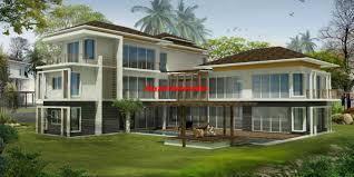 rumah banglow modern bayani home renovation