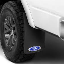 Ford Truck Mud Guards - plasticolor easy fit automotive logo mud flaps